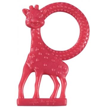 sophie de giraf rode bijtring in de vorm van giraf