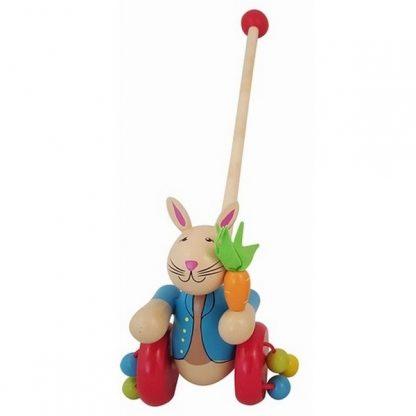 duwstok konijn hout
