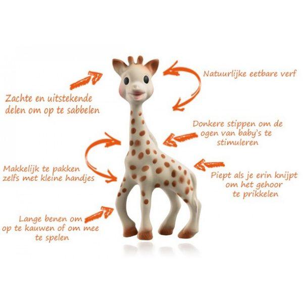 eigenschappen sophie de giraf