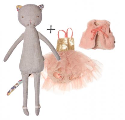 best-friends-kat-met-ballerina-jurk-en-stola