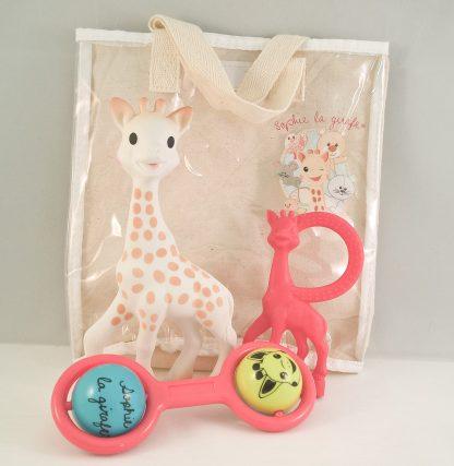 sophie de giraf cadeauset