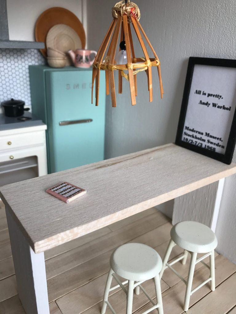 Keuken van het poppenhuis skattich for Meubels poppenhuis