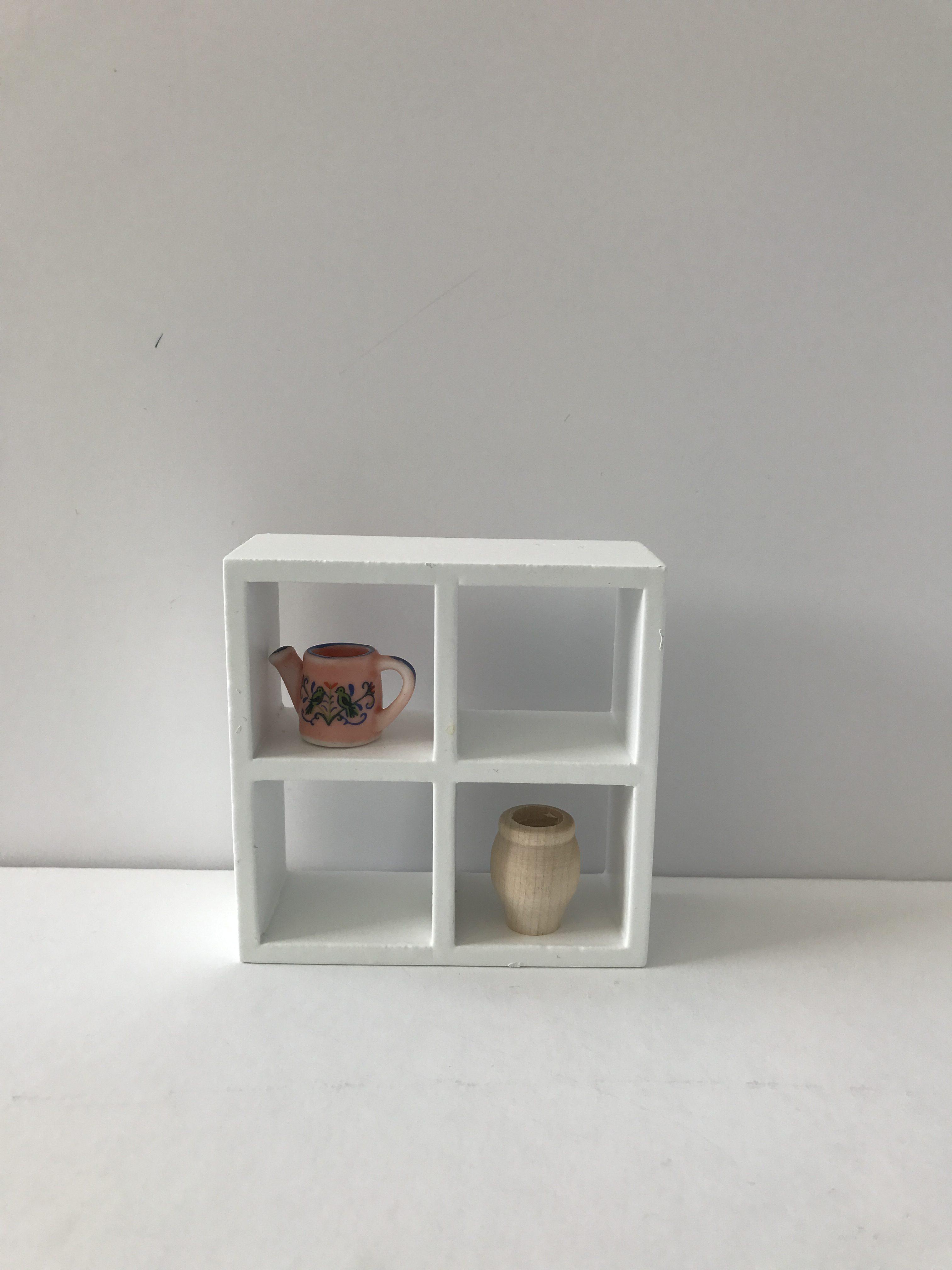Modern Strak Vierkante Kast Met 4 Vakken