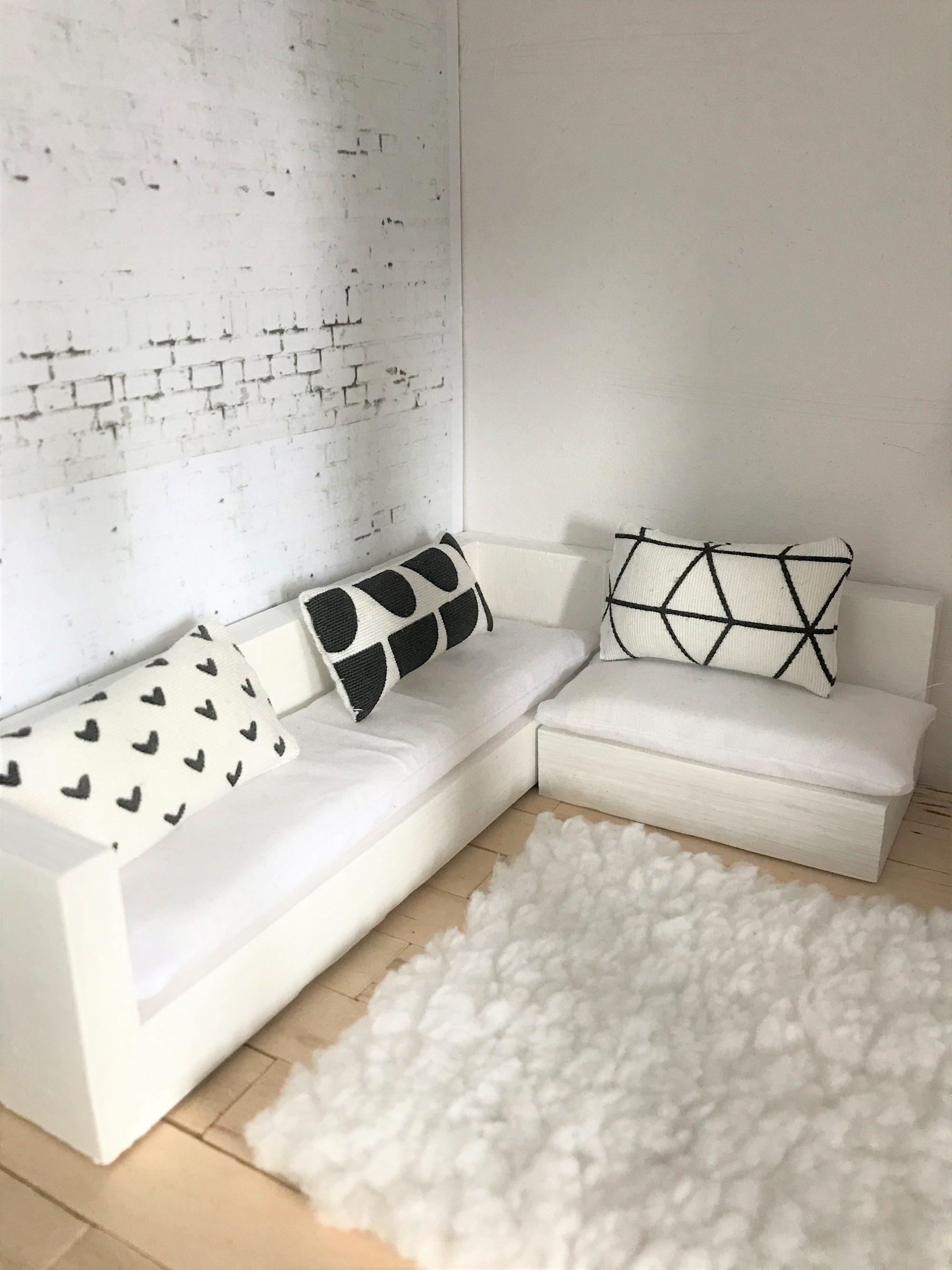Zelf Behang Printen.Behang Voor Het Moderne Poppenhuis Skattich