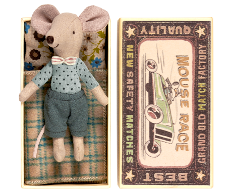 Maileg mouse big brother in box grote broer muis in luciferdoosje