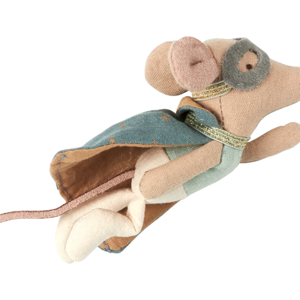 Maileg mouse guardian hero muis engel held vliegen